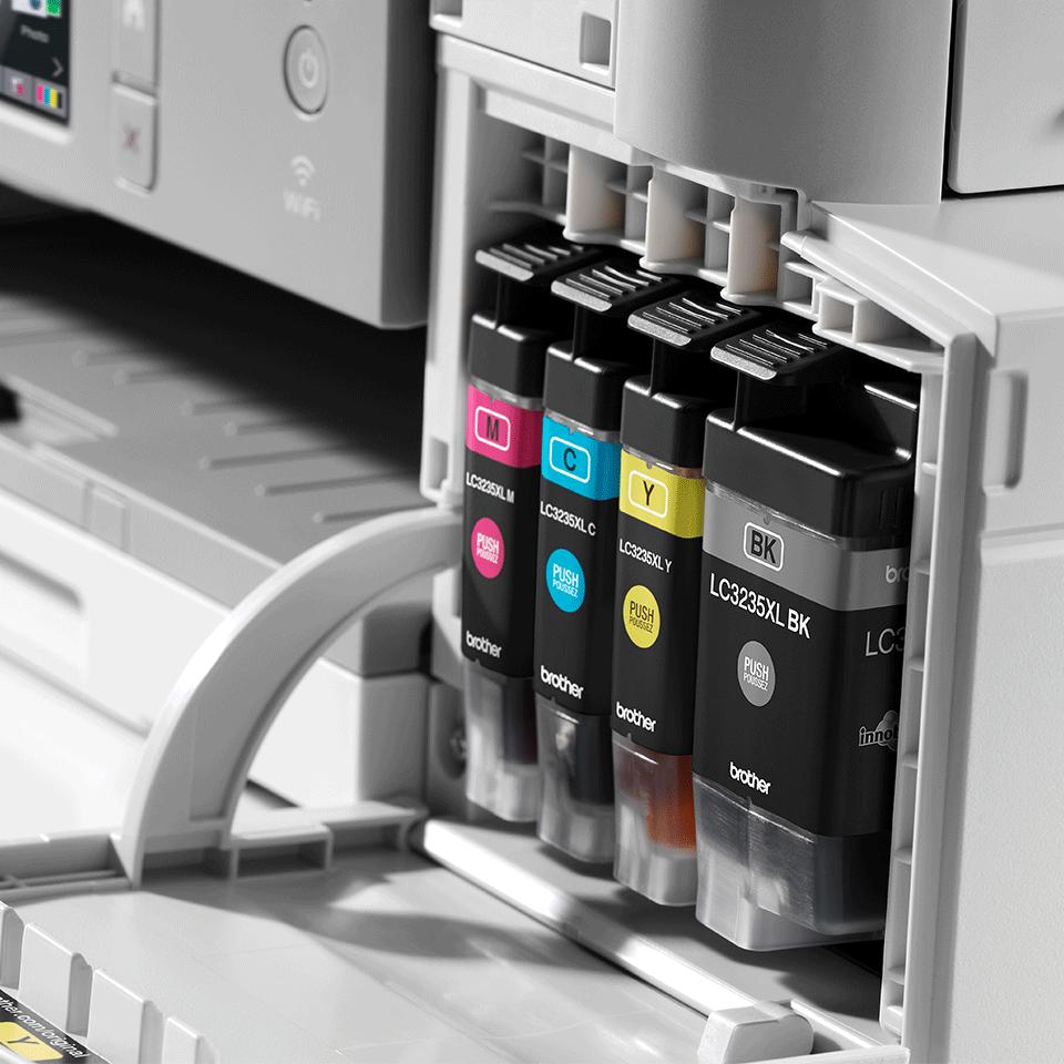 DCP-J1100DW All in Box imprimante jet d'encre couleur 3-en-1, Wifi 7