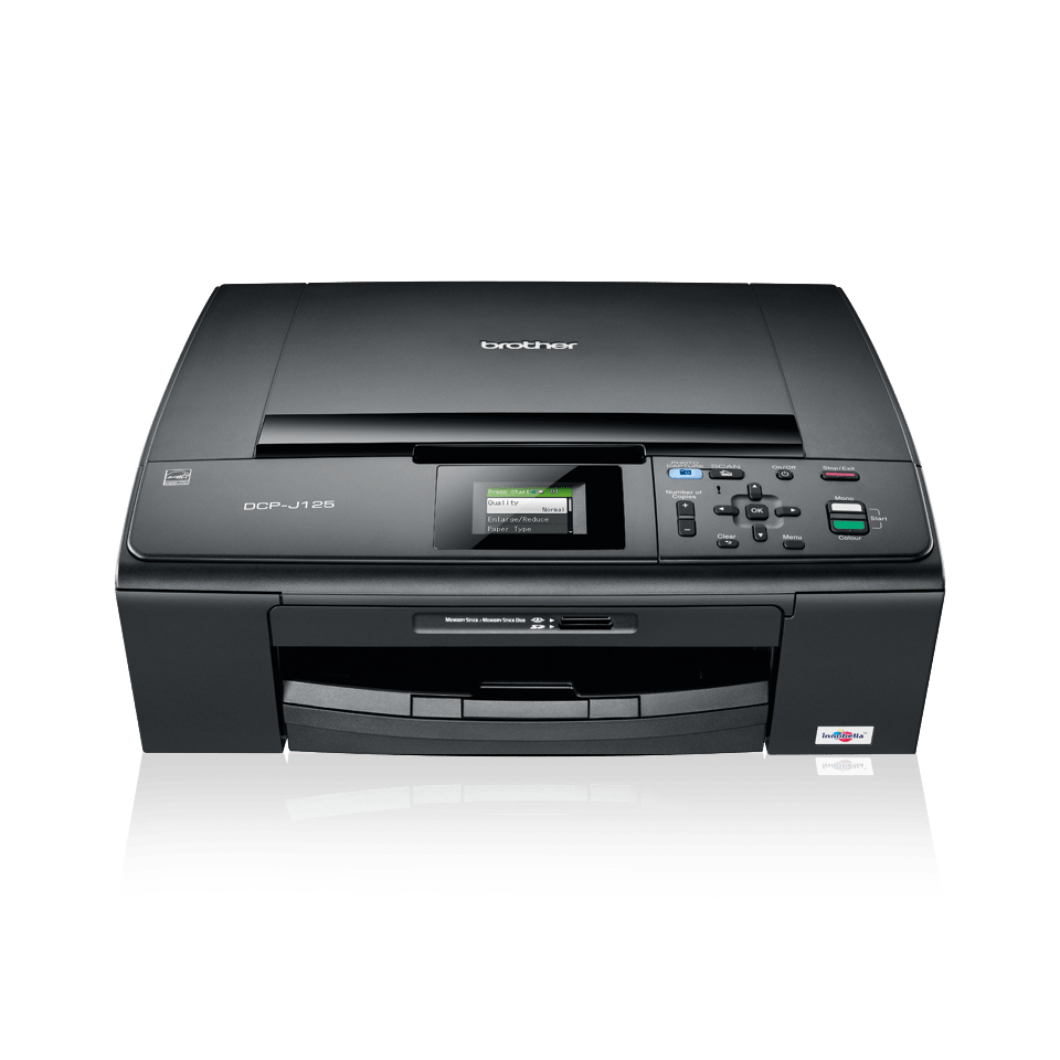 DCP-J125 3-in-1 inkjet printer