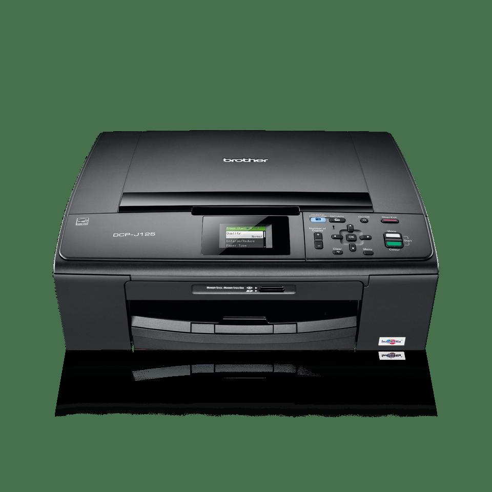 DCP-J125 all-in-one inkjetprinter 2