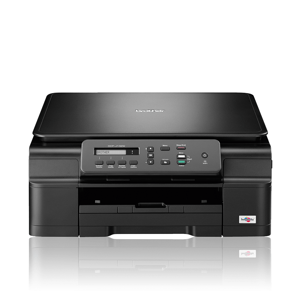 DCP-J132W all-in-one inkjet printer