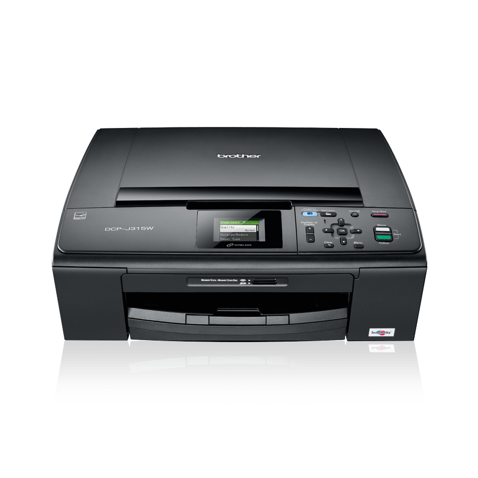 DCP-J315W 3-in-1 inkjet printer