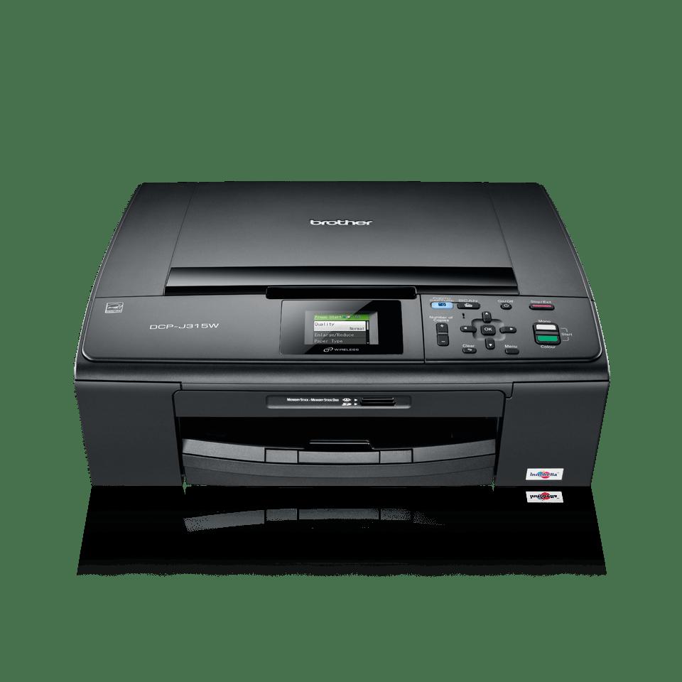 DCP-J315W all-in-one inkjet printer 2