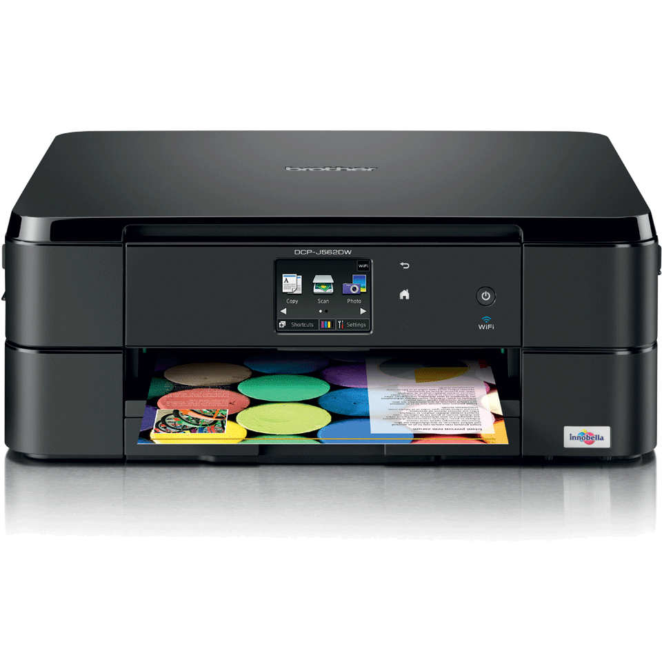 DCP-J562DW all-in-one inkjet printer