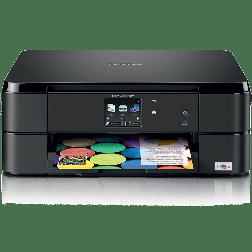 DCP-J562DW all-in-one inkjet printer 2
