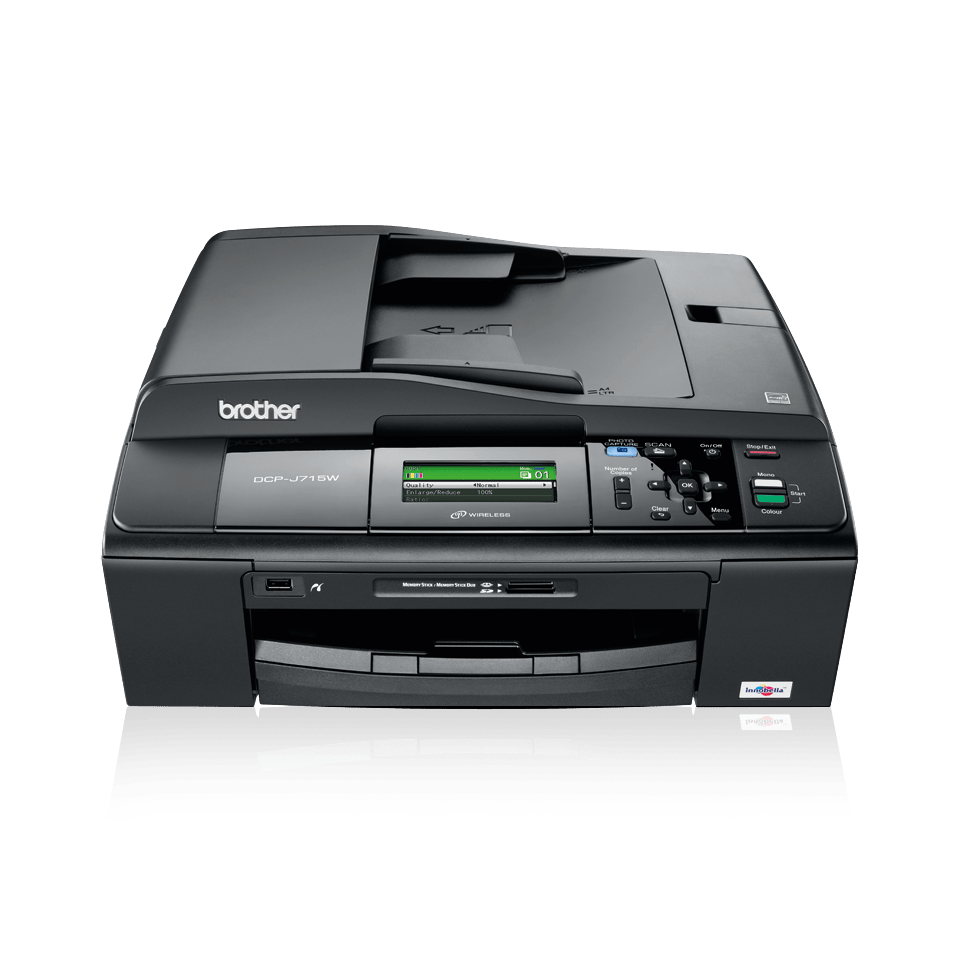 DCP-J715W 3-in-1 inkjet printer