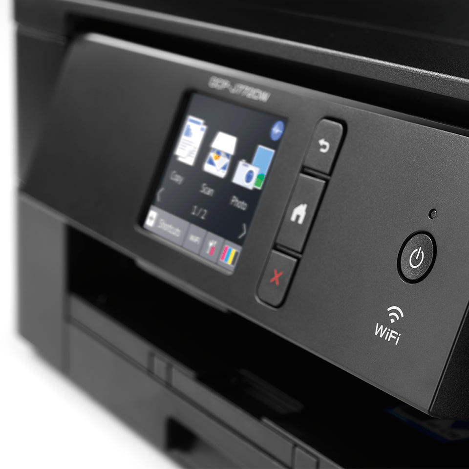 DCP-J772DW 3-in-1 kleuren inkjet printer, Wifi 5