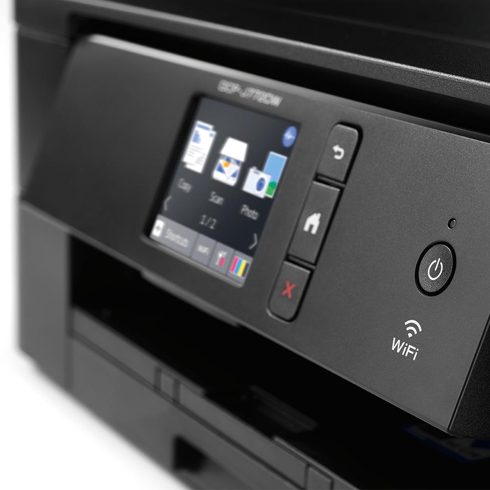 DCP-J772DW compacte 3-in-1 A4 wifi inkjet printer 5