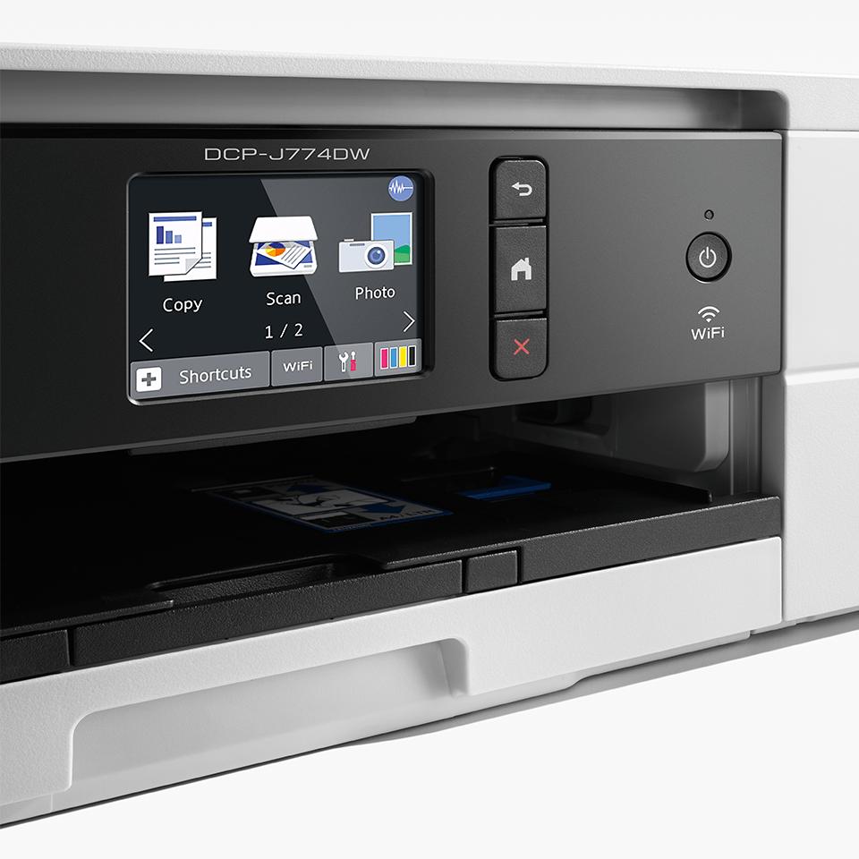 DCP-J774DW compacte 3-in-1 A4 wifi inkjet printer 4
