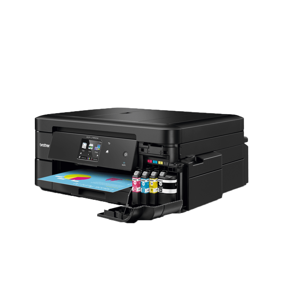 DCP-J785DW all-in-one inkjet printer 4