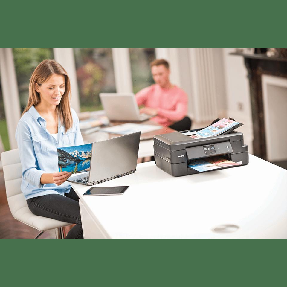 DCP-J785DW Inkbenefit imprimante jet d'encre couleur 3-en-1, Wifi 5