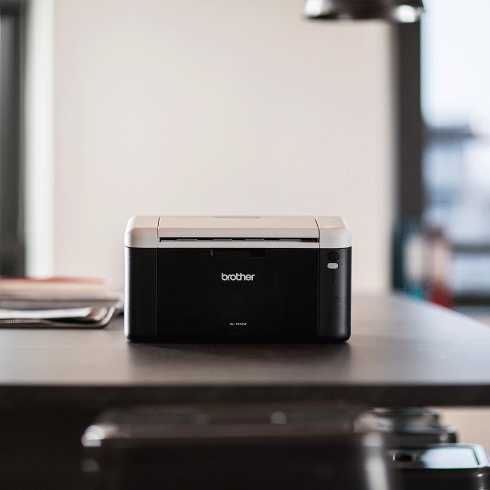 HL-1212W All in Box Imprimante laser mono, WiFi 4