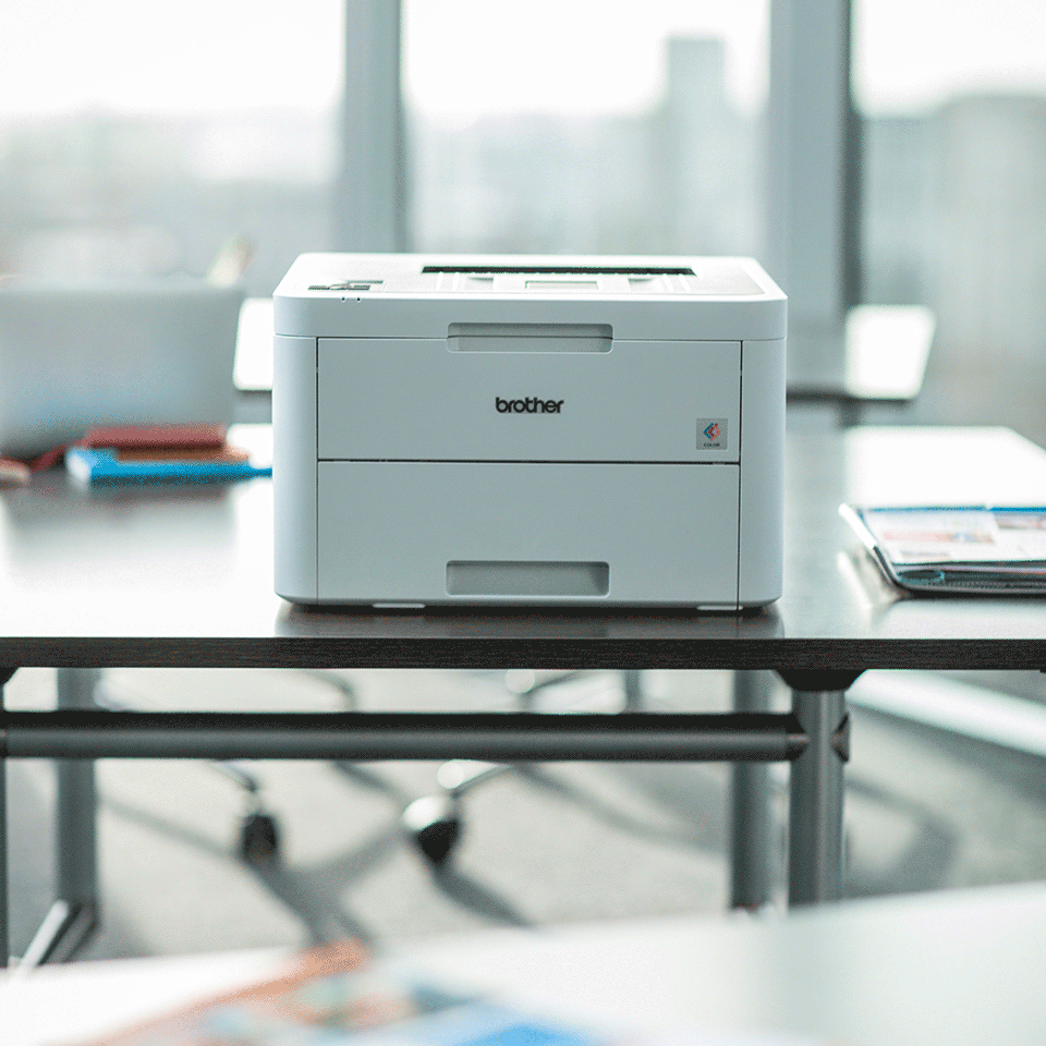 HL-L3230CDW kleuren LED printer, Wifi, Ethernet 5