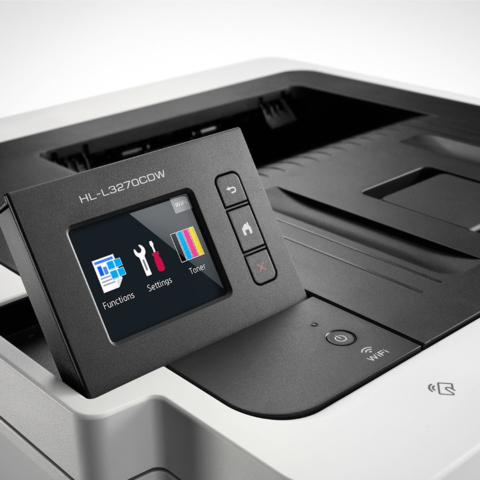HL-L3270CDW kleuren LED printer, Wifi, Ethernet, NFC 4