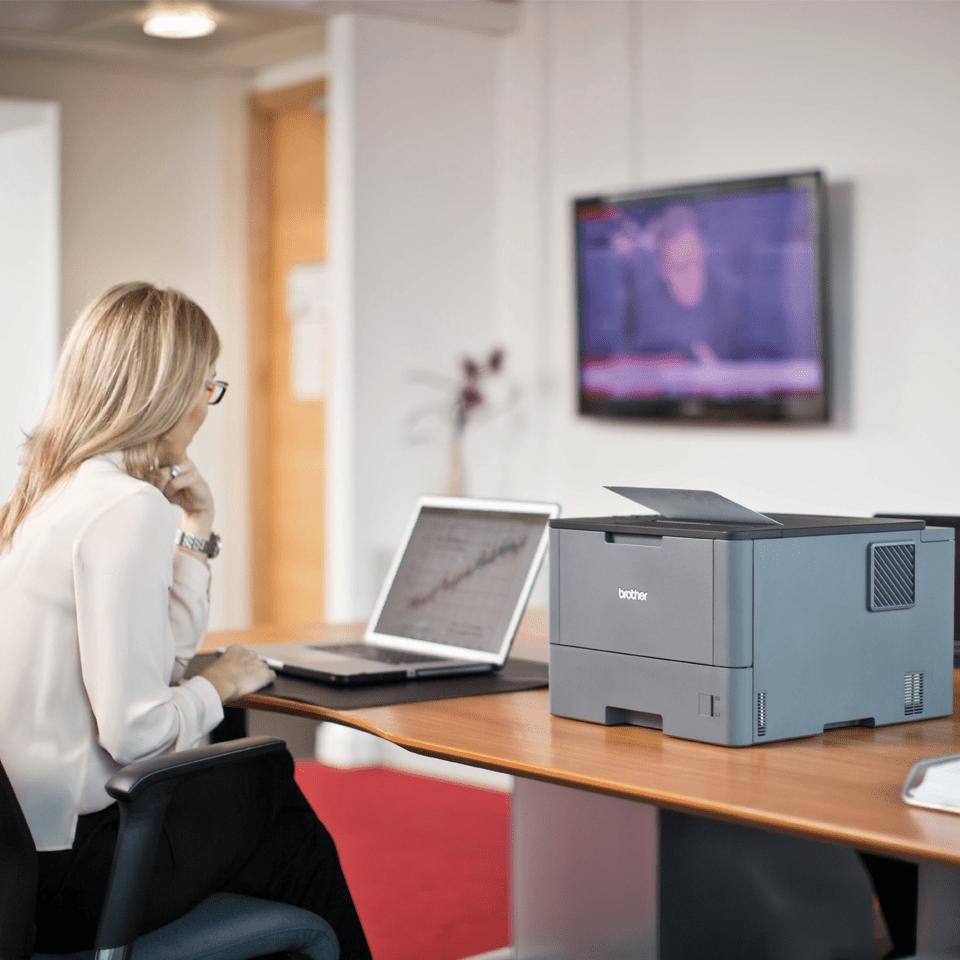 HL-L5000D imprimante laser monochrome professionnelle 4