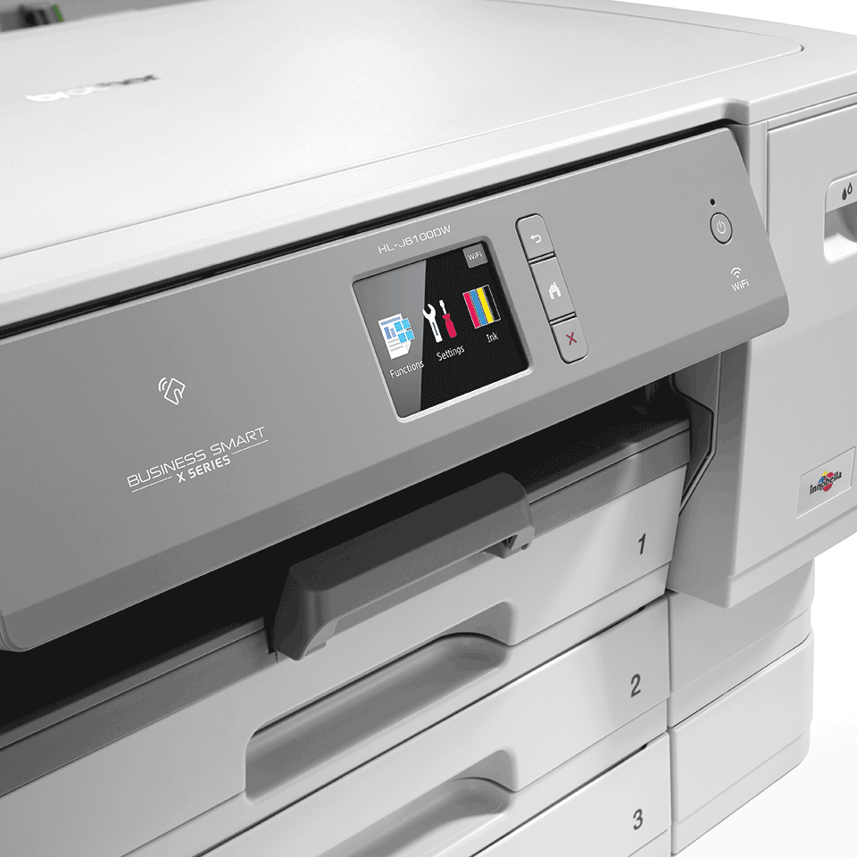 HL-J6100DW imprimante jet d'encre A3 sans fil avec NFC 5