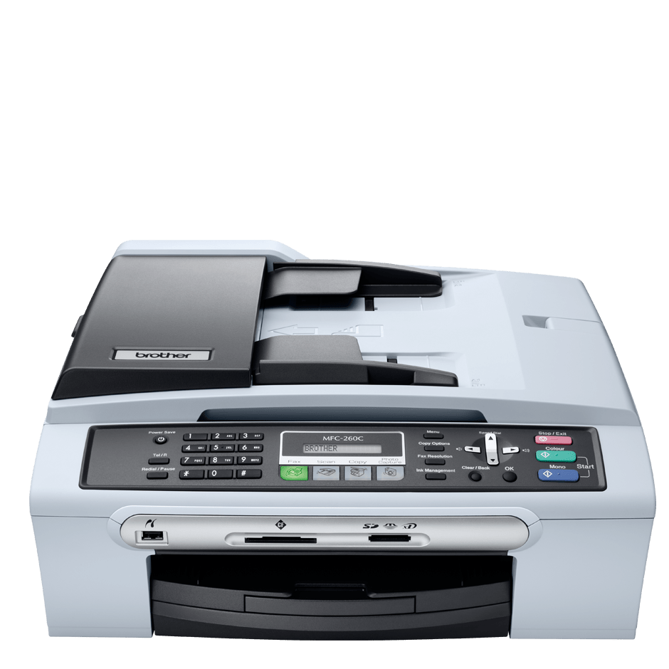 MFC-260C 4-in-1 inkjet printer