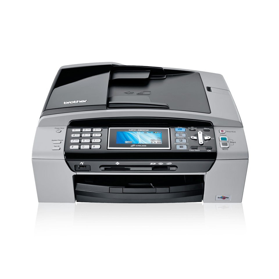 MFC-490CW all-in-one inkjet printer 2