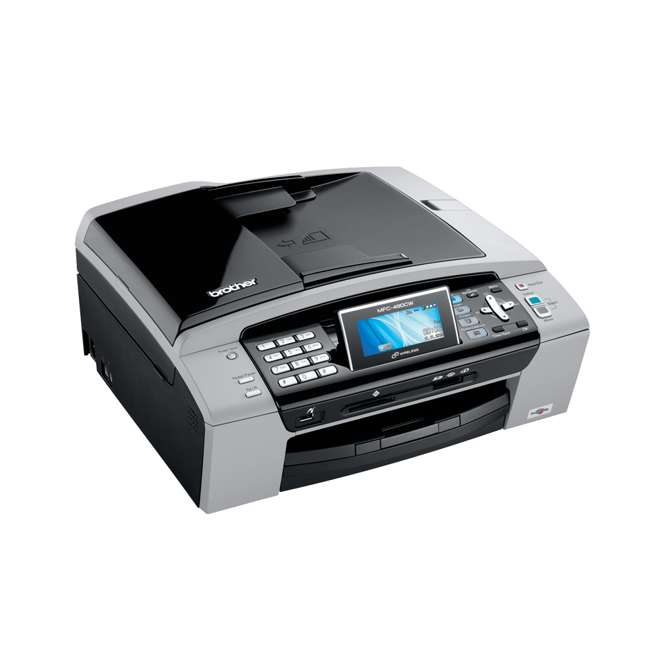 MFC-490CW all-in-one inkjet printer 3
