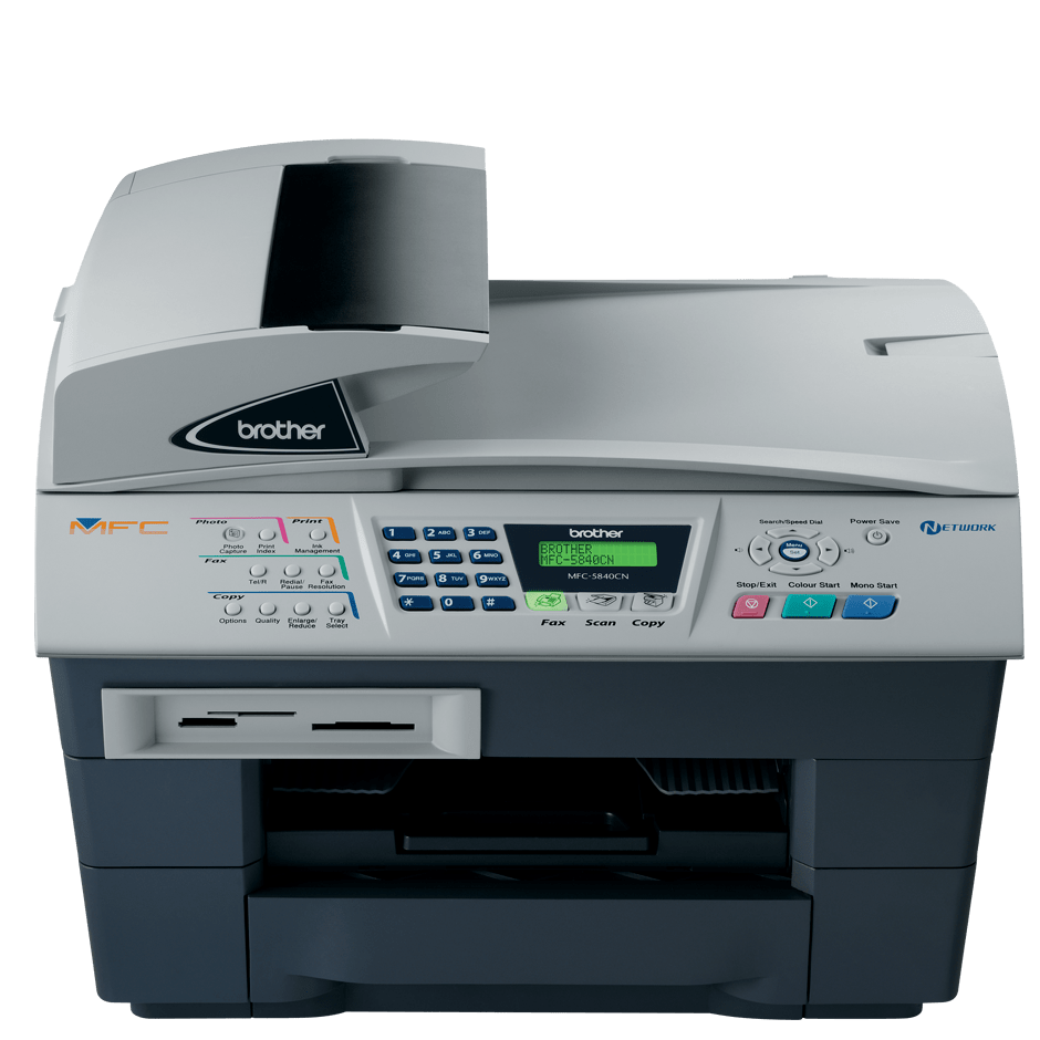 MFC-5840CN 4-in-1 inkjet printer