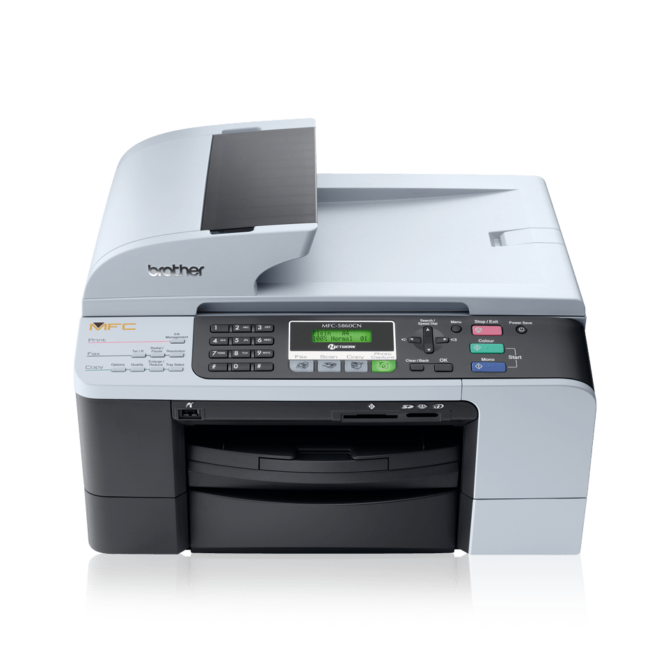 MFC-5860CN 4-in-1 inkjet printer