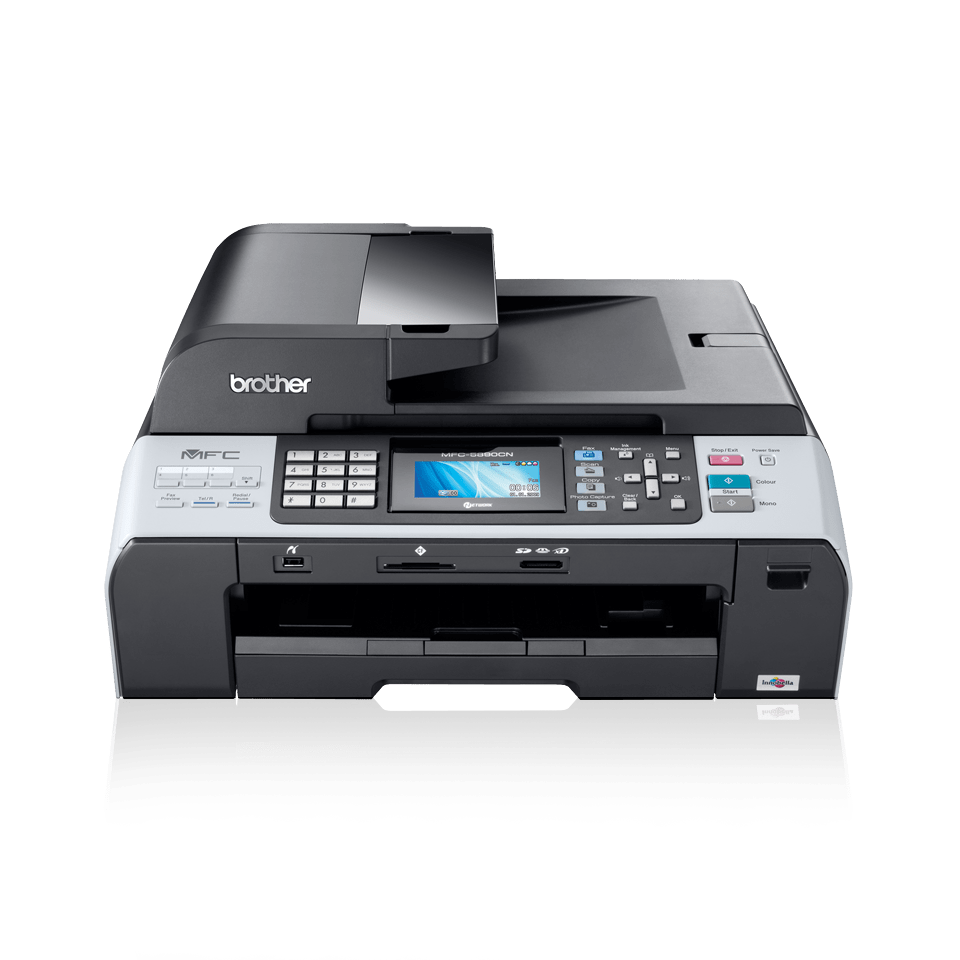 MFC-5890CN all-in-one inkjet printer 2