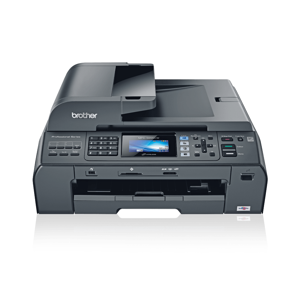 MFC-5895CW all-in-one inkjet printer 2