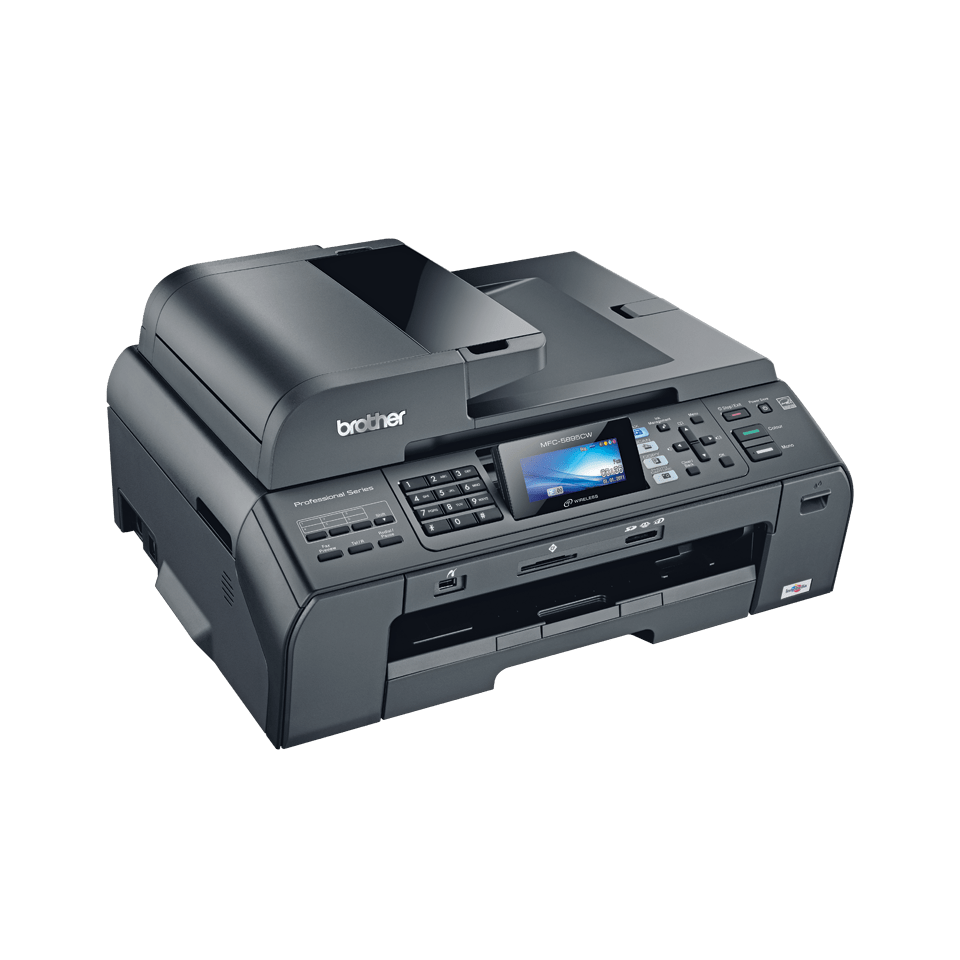 MFC-5895CW all-in-one inkjet printer 3