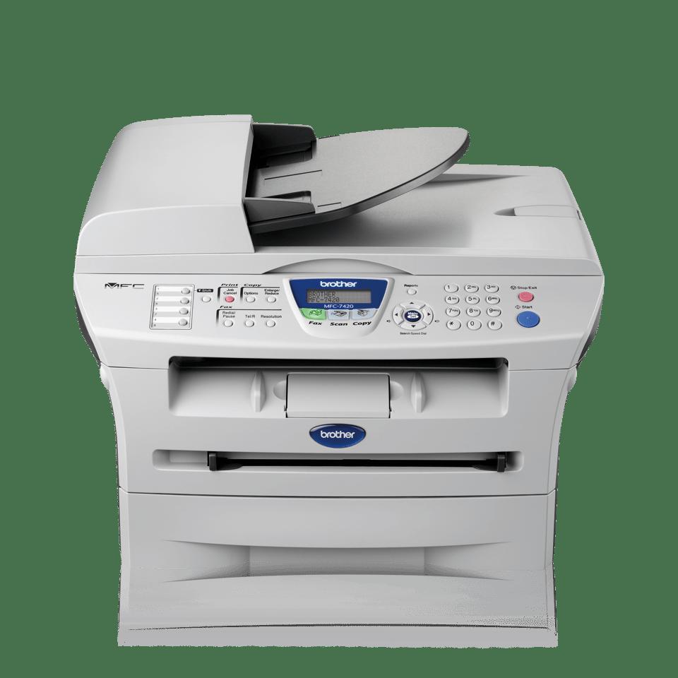 MFC-7420 all-in-one mono laser printer 2