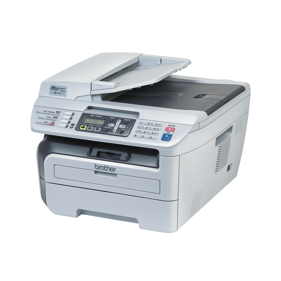 MFC-7440N all-in-one mono laser printer