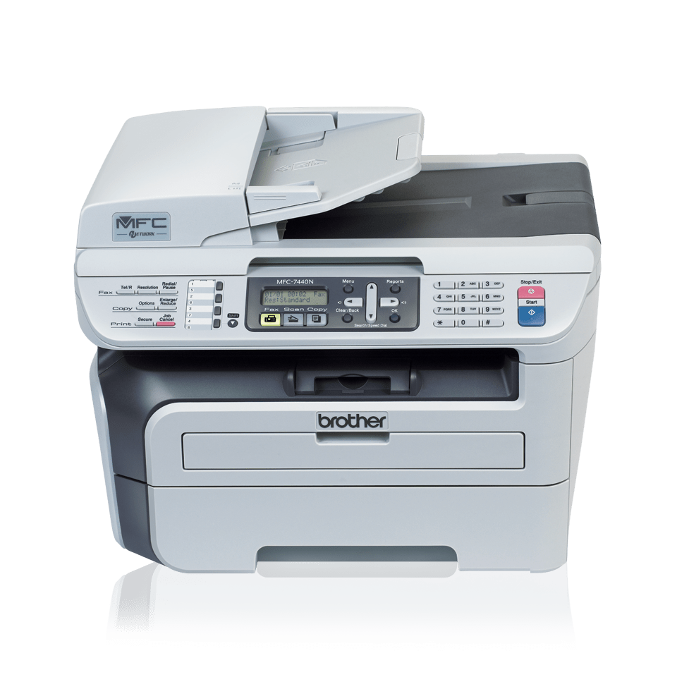 MFC-7440N all-in-one mono laser printer 2