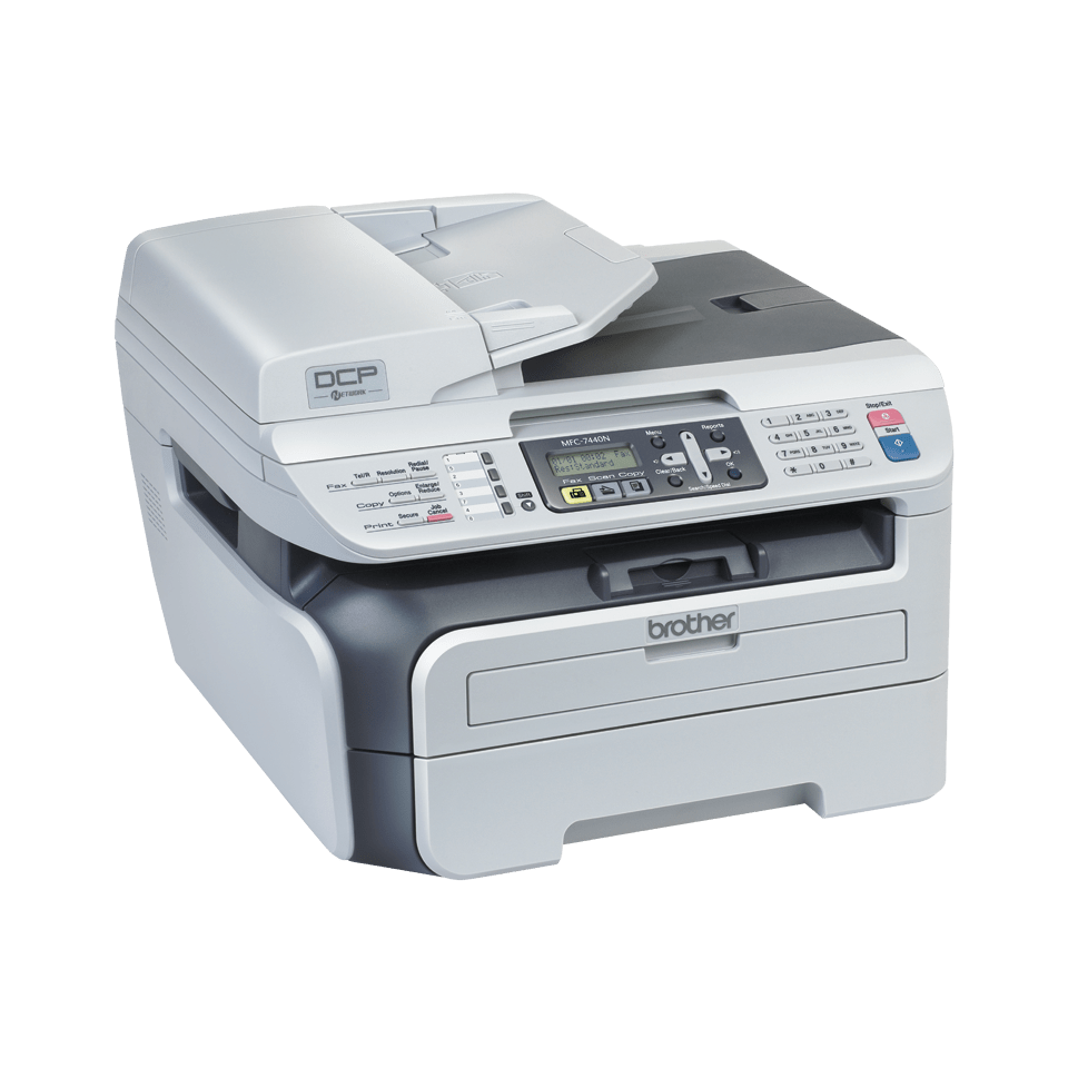 MFC-7440N all-in-one mono laser printer 3