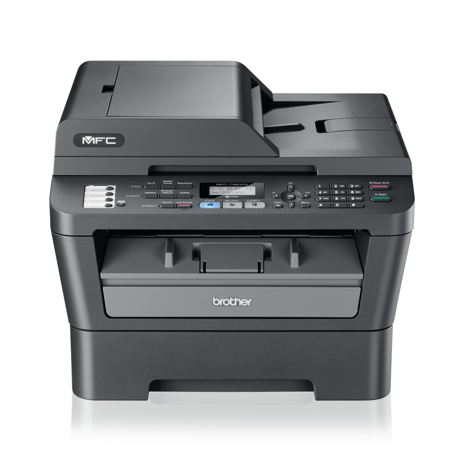 MFC-7460DN all-in-one mono laser printer 2