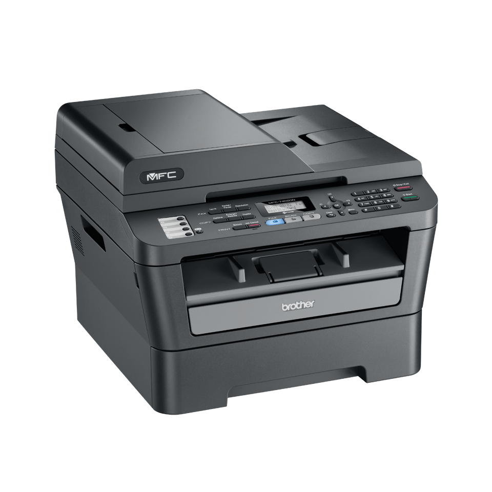 MFC-7460DN all-in-one mono laser printer 3