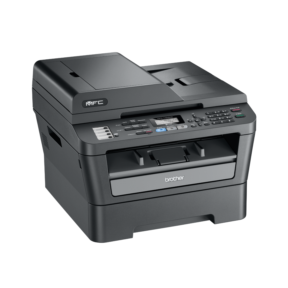 MFC-7460DN all-in-one mono laser printer 3