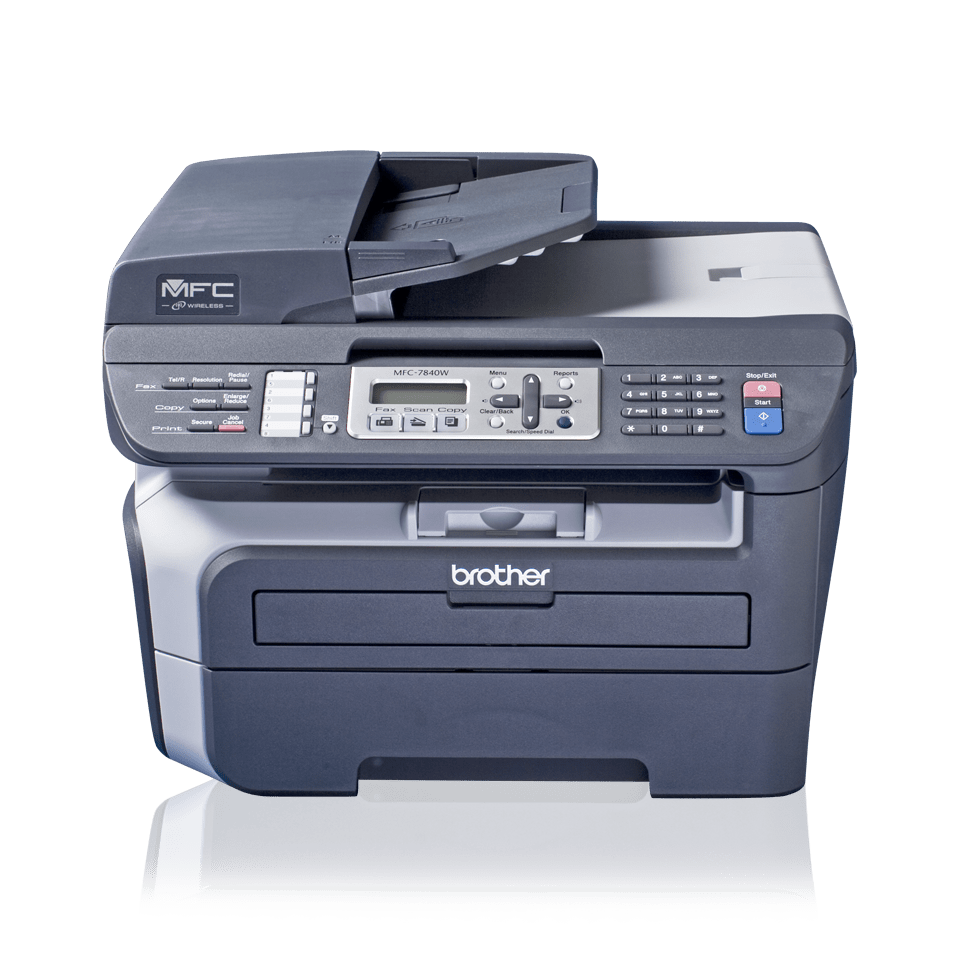MFC-7840W all-in-one mono laser printer 2