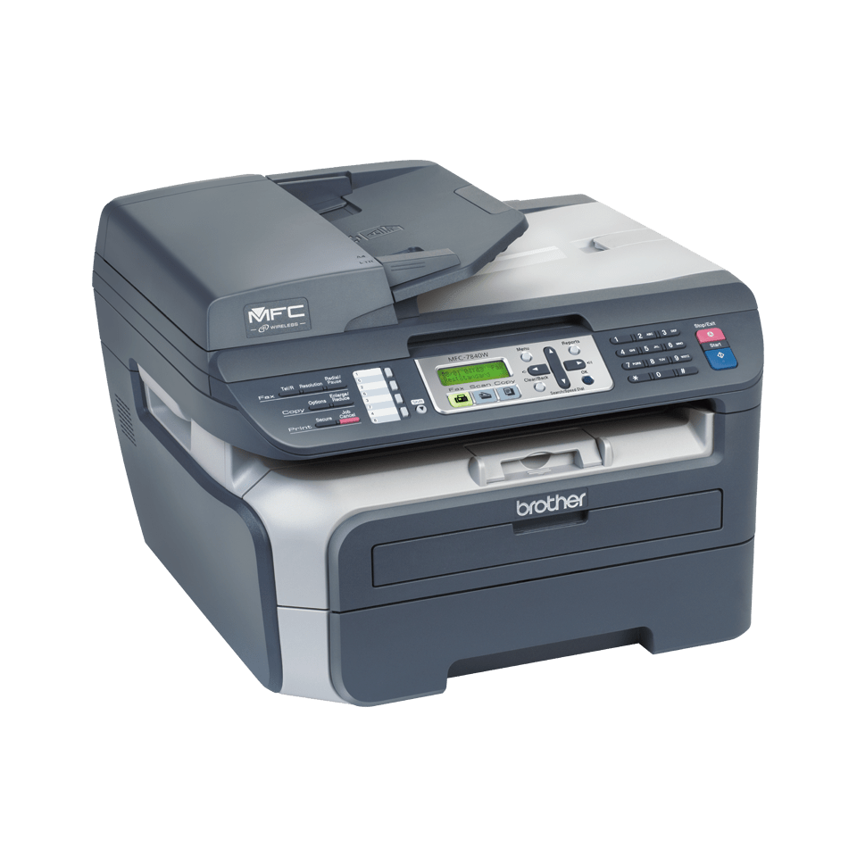 MFC-7840W all-in-one mono laser printer 3