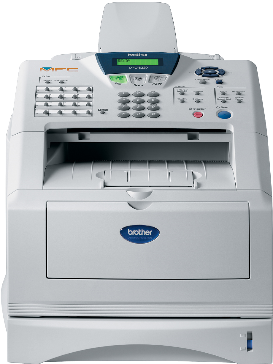 MFC-8220 all-in-one zwart-wit laserprinter