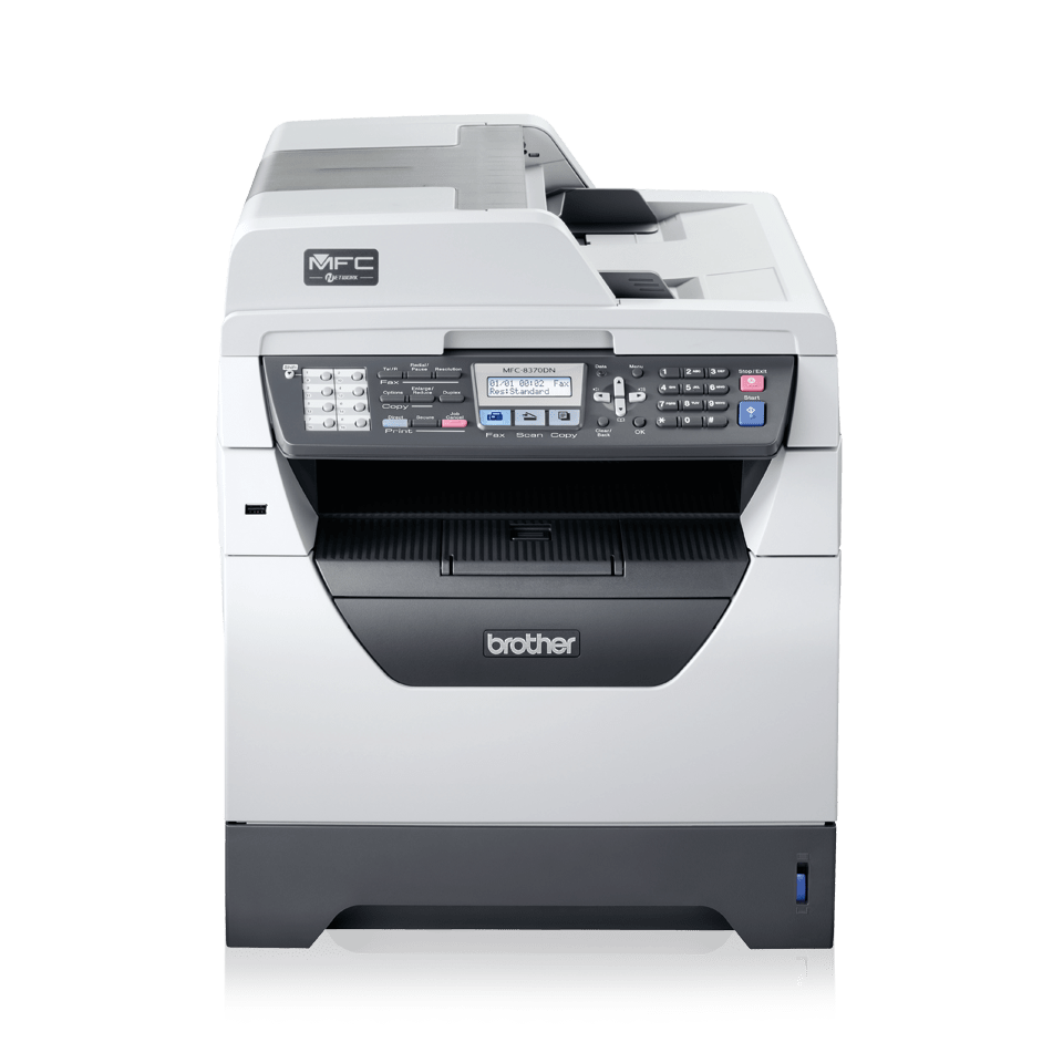 MFC-8370DN all-in-one zwart-wit laserprinter 2