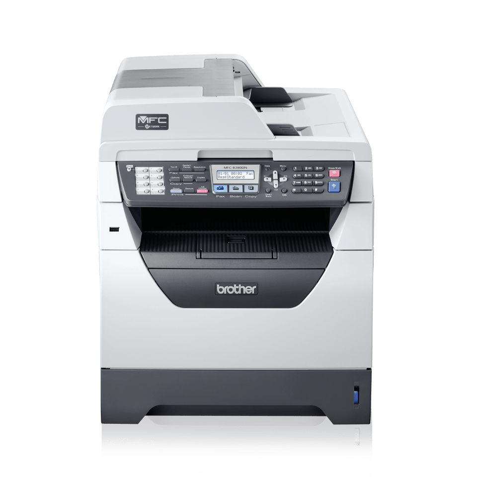 MFC-8380DN all-in-one mono laser printer 2