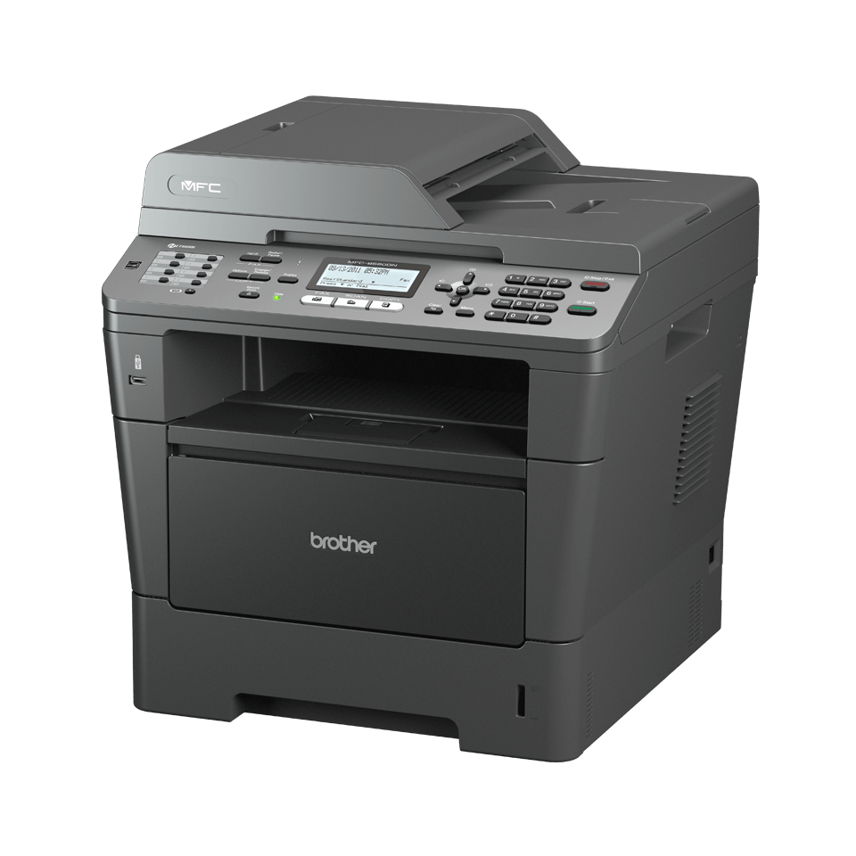 MFC-8510DN all-in-one zwart-wit laserprinter 2