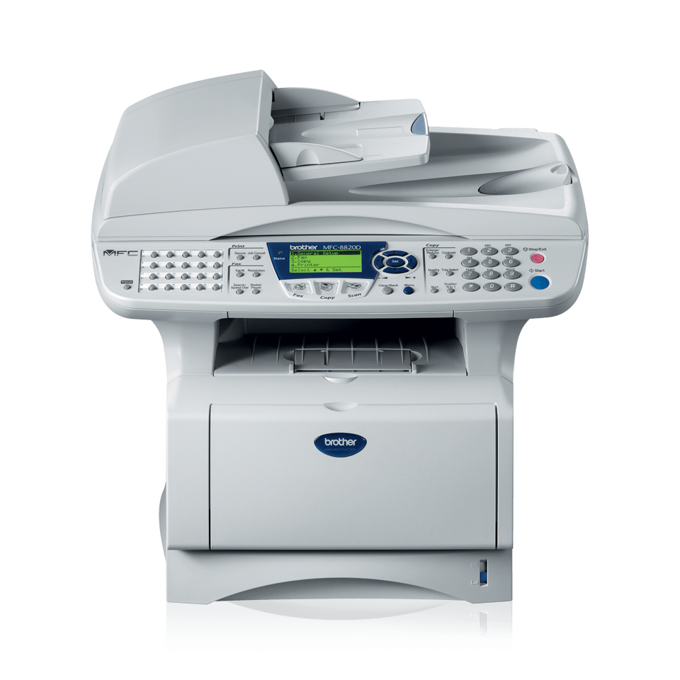 MFC-8820D all-in-one mono laser printer 2
