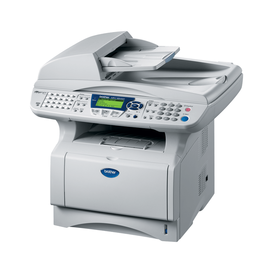 MFC-8840D all-in-one mono laser printer