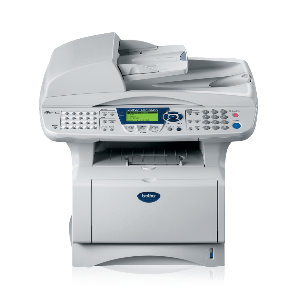 MFC-8840D all-in-one mono laser printer 2
