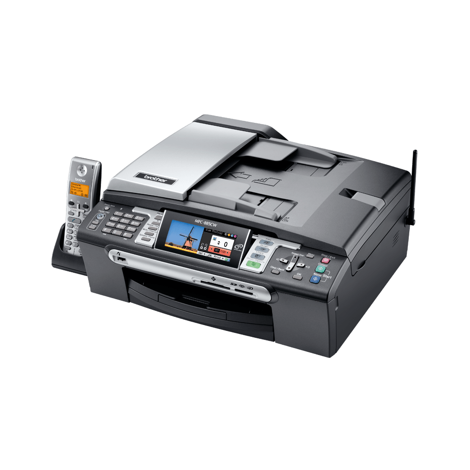 MFC-885CW all-in-one inkjetprinter