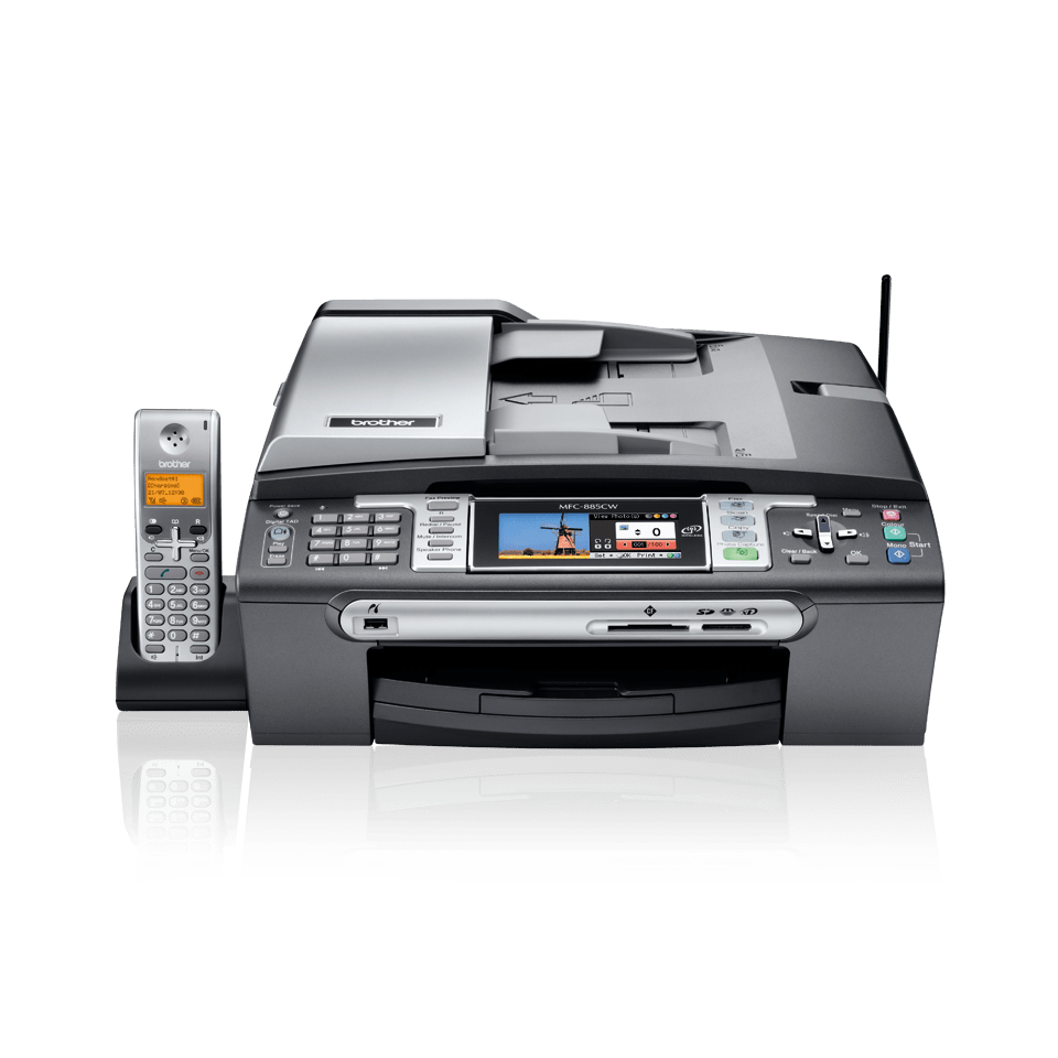MFC-885CW all-in-one inkjet printer 2