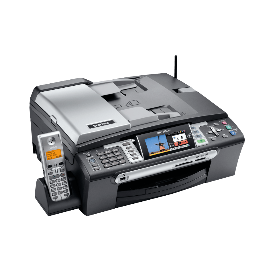 MFC-885CW all-in-one inkjet printer 3