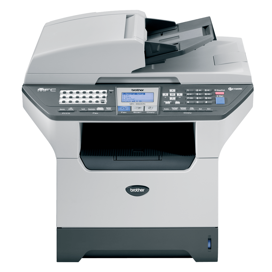 MFC-8860DN all-in-one mono laser printer