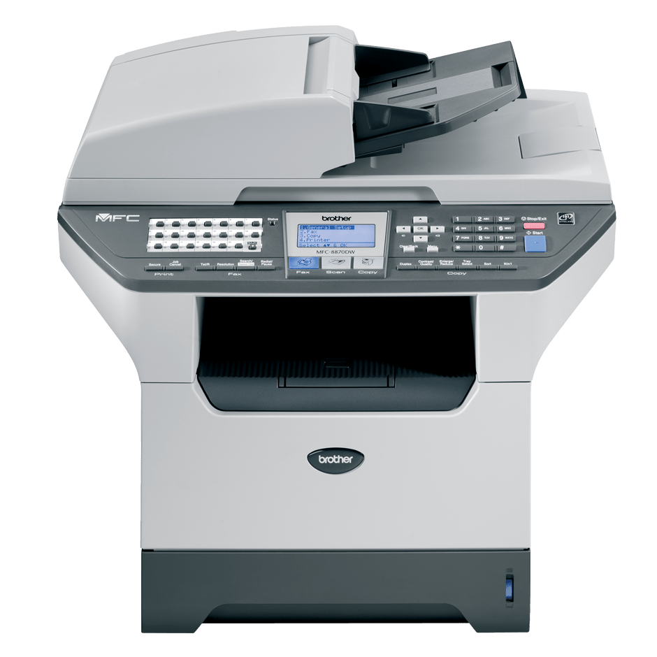 MFC-8870DW all-in-one mono laser printer