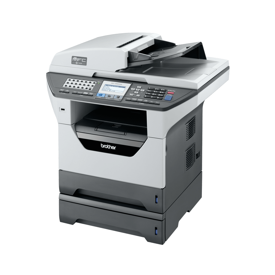 MFC-8880DN all-in-one mono laser printer 4