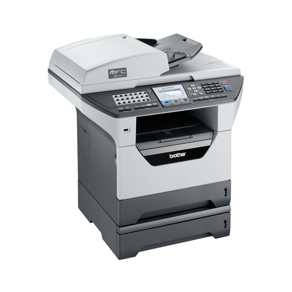 MFC-8880DN all-in-one mono laser printer 5